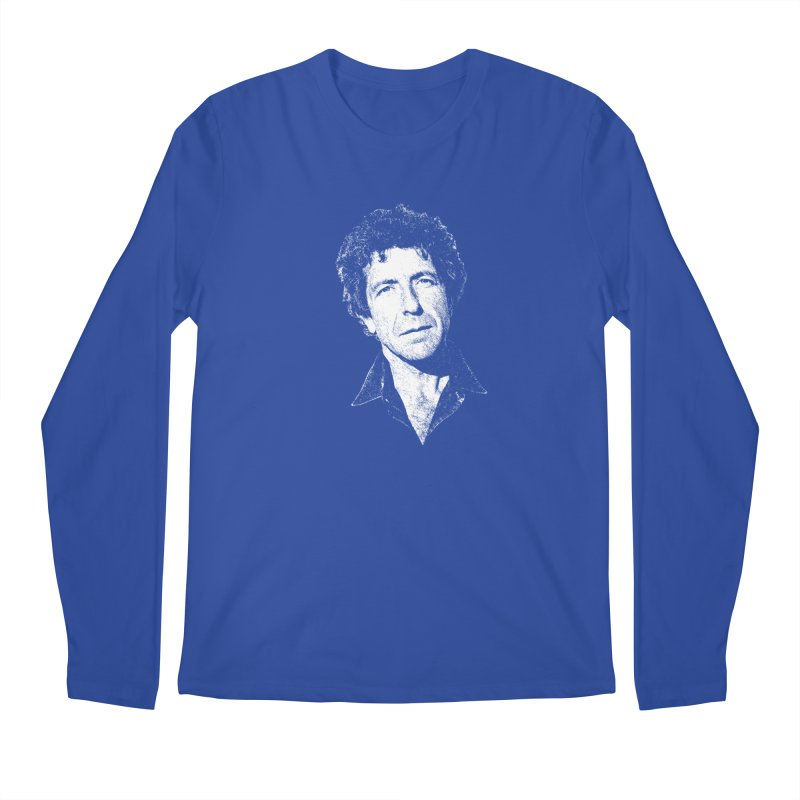 I'm Your Man (Leonard Cohen) Men's Longsleeve T-Shirt by Dave Tees