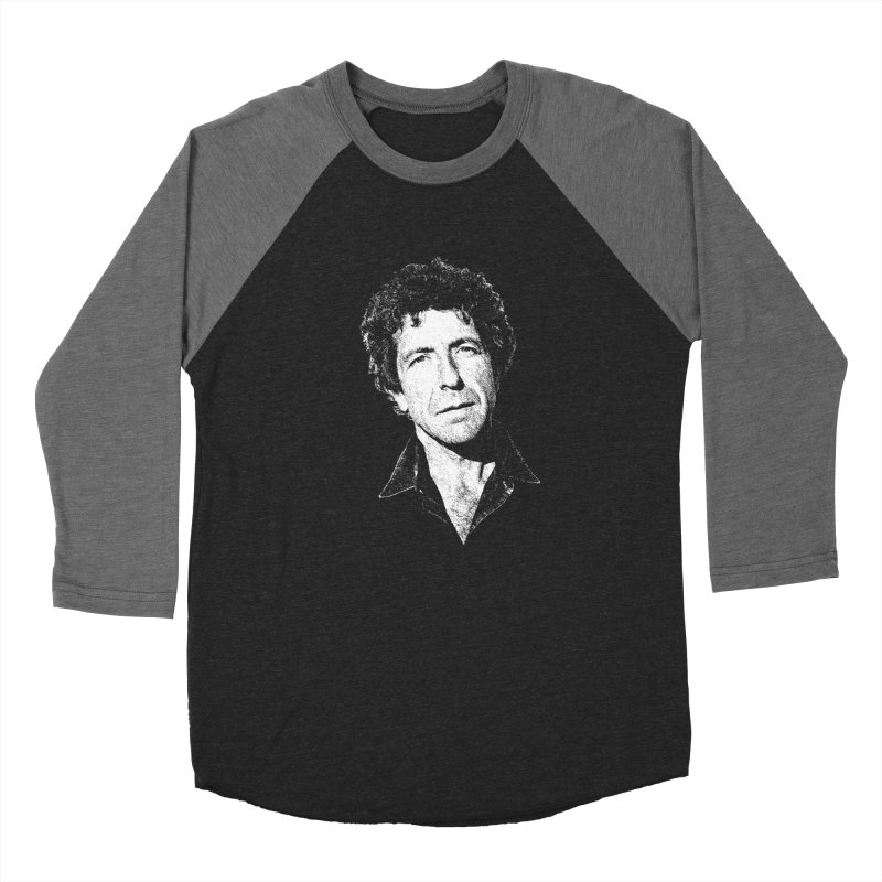 I'm Your Man (Leonard Cohen) Men's Baseball Triblend Longsleeve T-Shirt by Dave Tees
