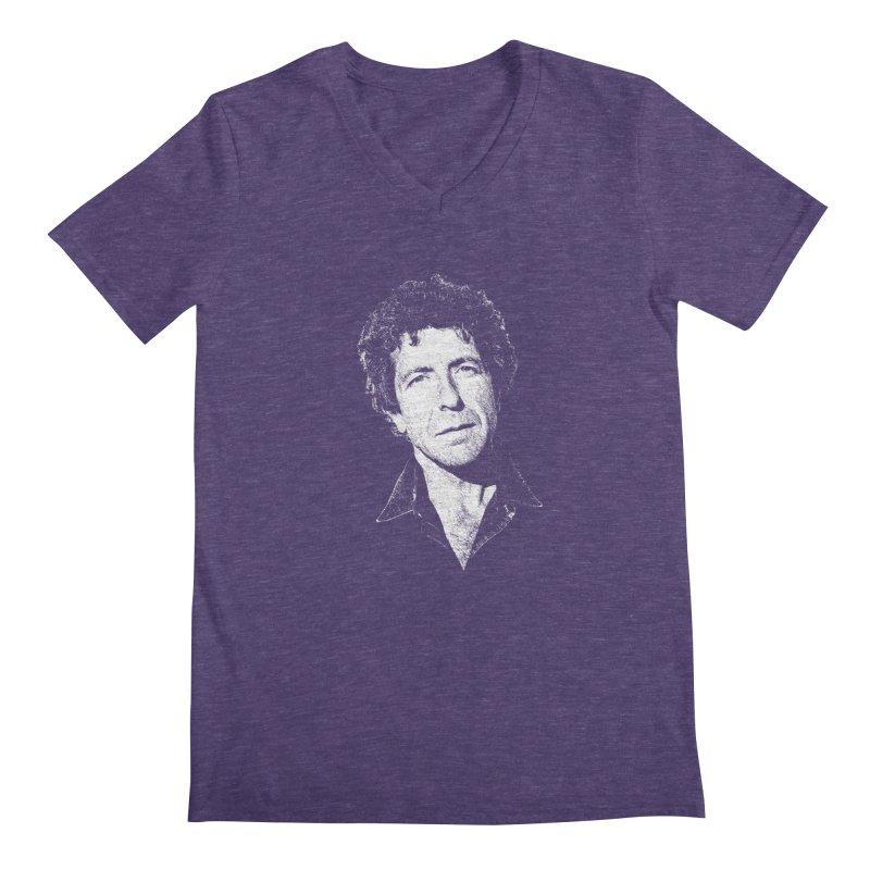 I'm Your Man (Leonard Cohen) Men's V-Neck by Dave Tees