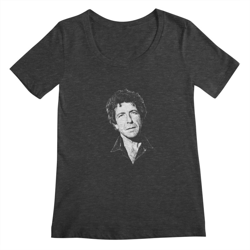 I'm Your Man (Leonard Cohen) Women's Scoopneck by Dave Tees