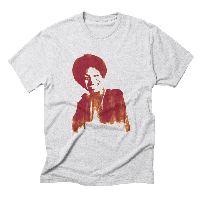 Nina (Nina Simone) Men's Triblend T-Shirt by Dave Tees