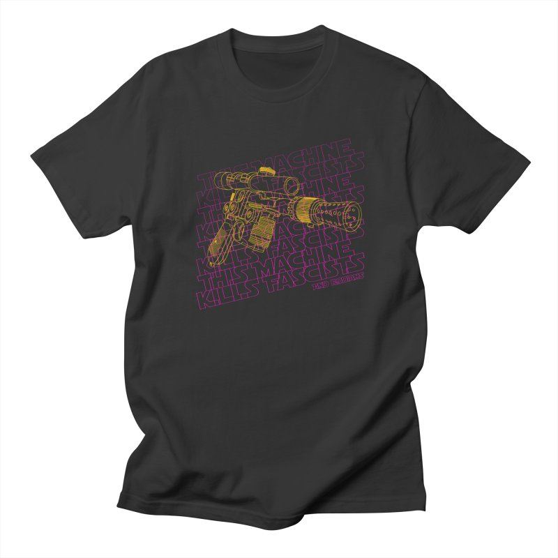 THIS MACHINE KILLS FASCISTS (BLASTER) Women's T-Shirt by Dave Tees
