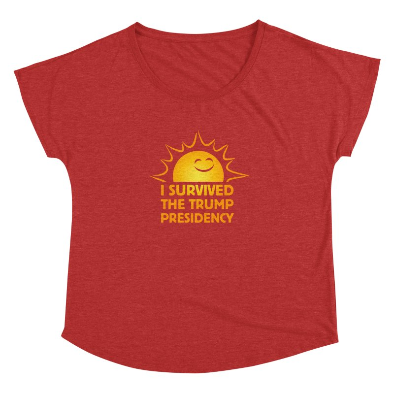 I SURVIVED Women's Dolman by Dave Tees