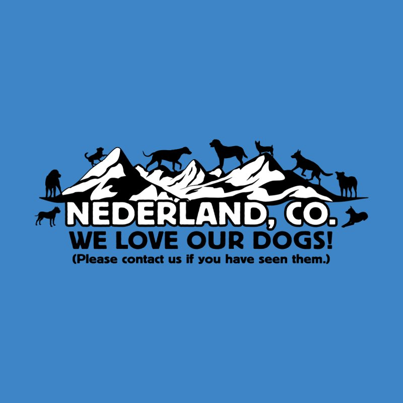 Ned Loves Dogs Women's Pullover Hoody by Dave Tees