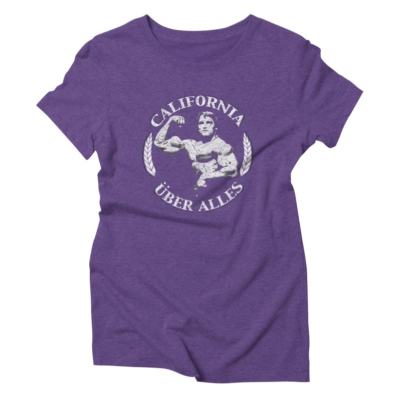 California Über Alles Women's Triblend T-shirt by Dave Tees