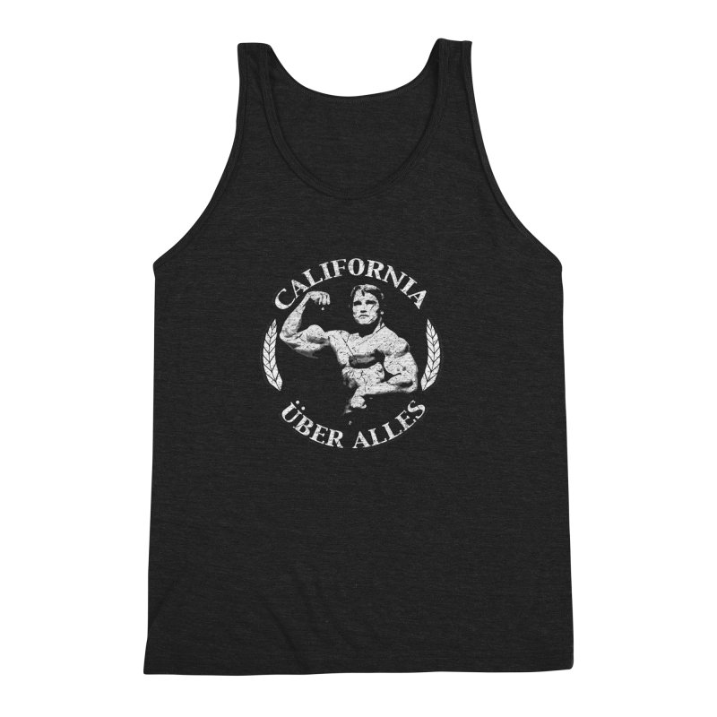 California Über Alles Men's Triblend Tank by Dave Tees