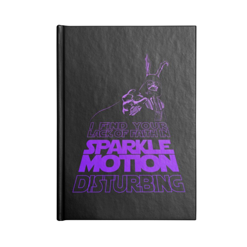 Donnie Dartho Accessories Lined Journal Notebook by Dave Tees