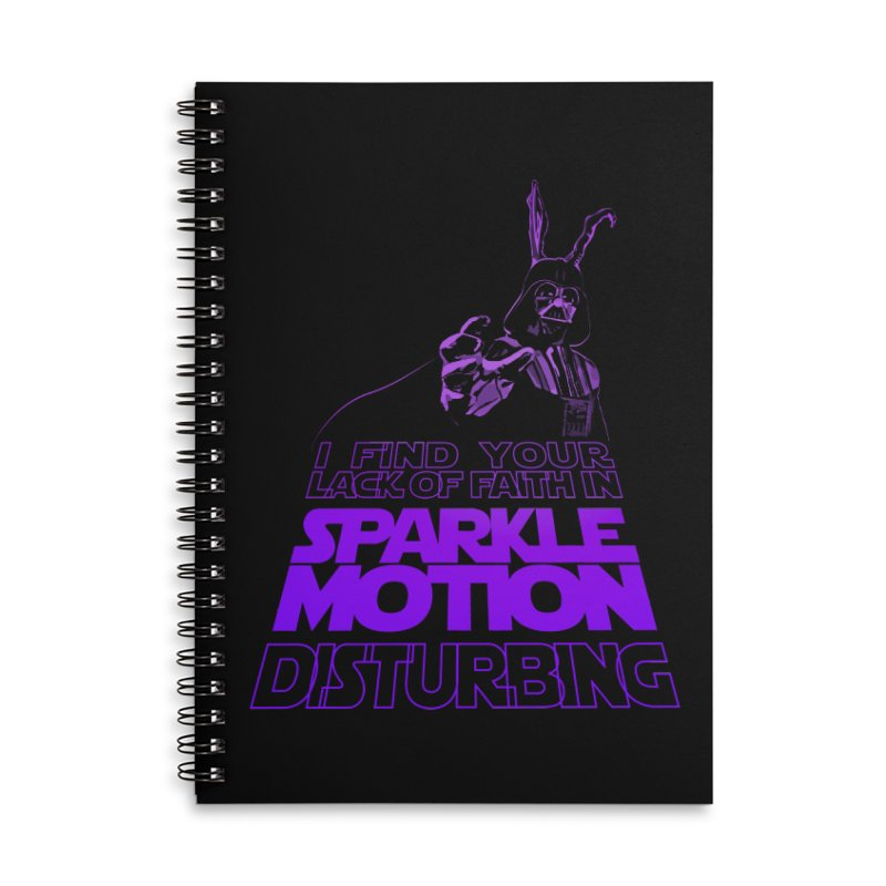 Donnie Dartho Accessories Lined Spiral Notebook by Dave Tees