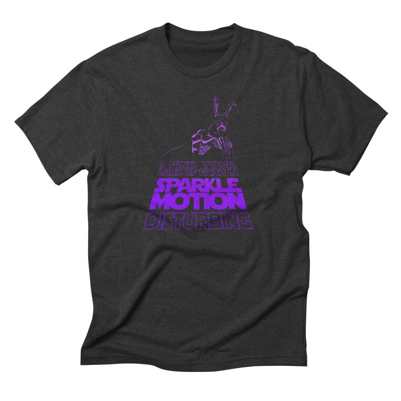 Donnie Dartho Men's Triblend T-Shirt by Dave Tees