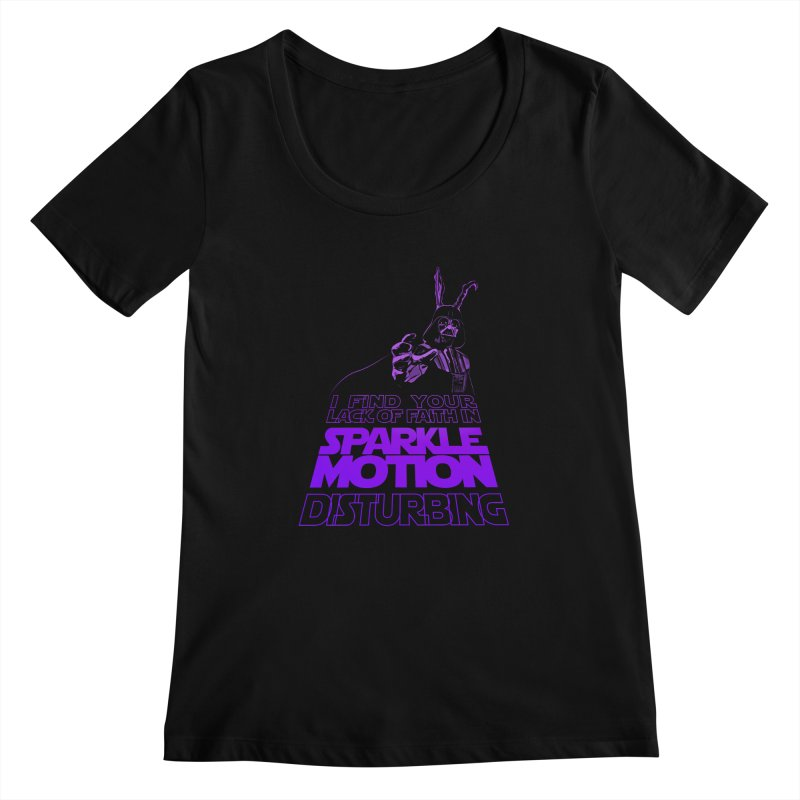 Donnie Dartho Women's Scoopneck by Dave Tees