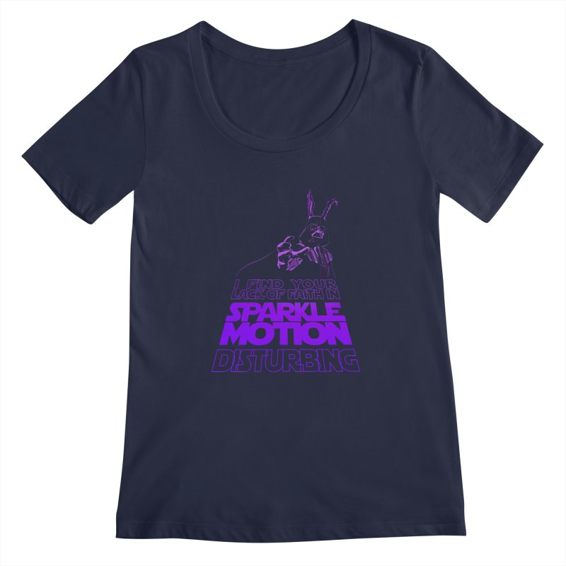 Donnie Dartho Women's Regular Scoop Neck by Dave Tees