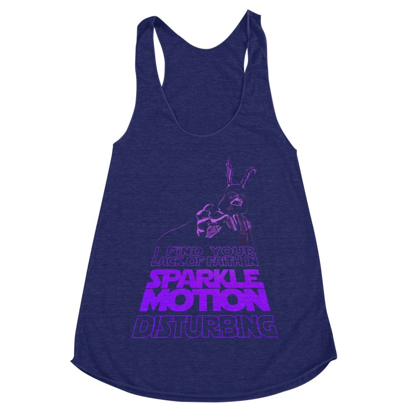 Donnie Dartho Women's Racerback Triblend Tank by Dave Tees