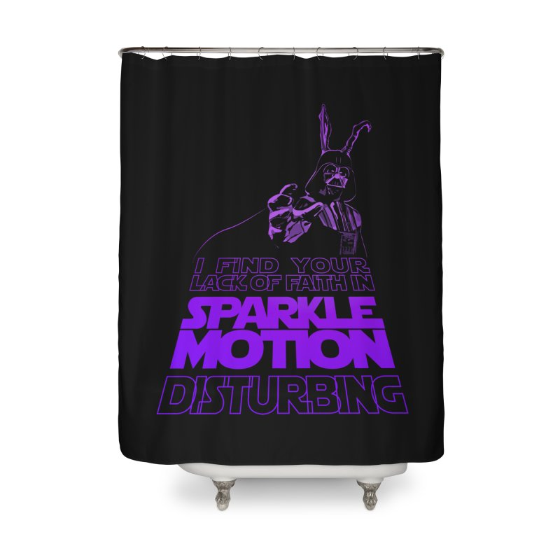Donnie Dartho Home Shower Curtain by Dave Tees