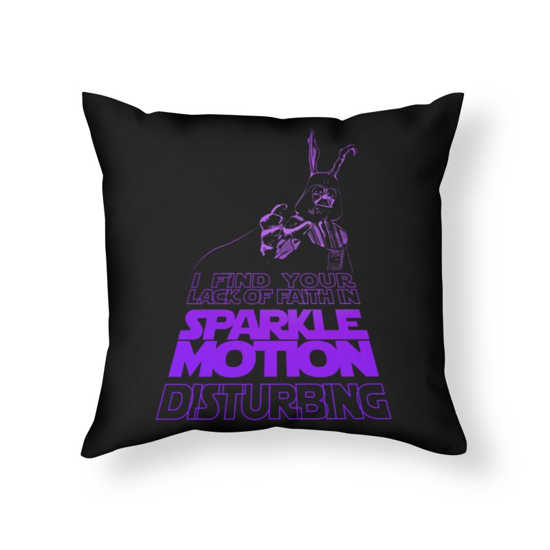 Donnie Dartho Home Throw Pillow by Dave Tees