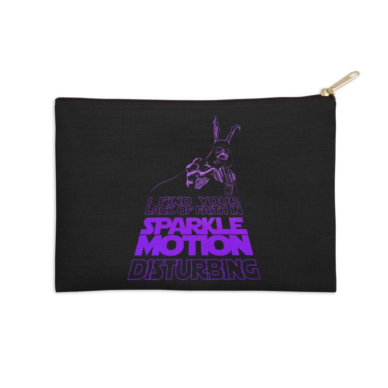 Donnie Dartho Accessories Zip Pouch by Dave Tees