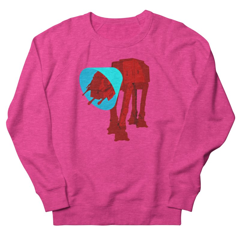 AT-AT BooBoo Women's French Terry Sweatshirt by Dave Tees