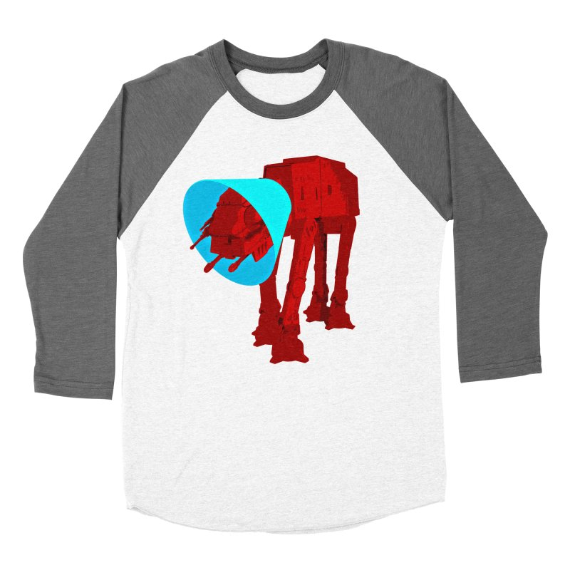 AT-AT BooBoo Women's Baseball Triblend Longsleeve T-Shirt by Dave Tees