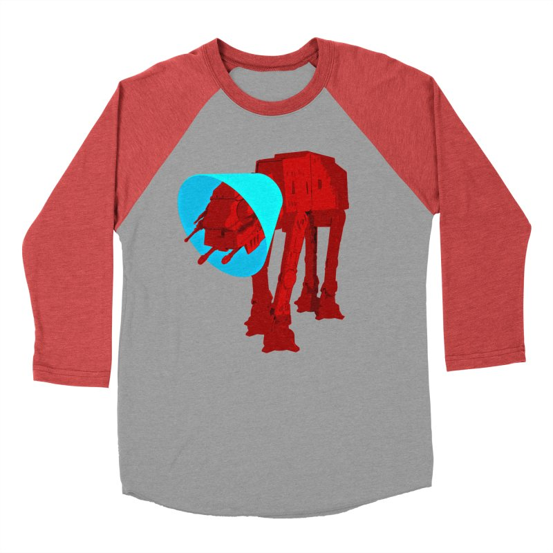 AT-AT BooBoo Men's Baseball Triblend Longsleeve T-Shirt by Dave Tees