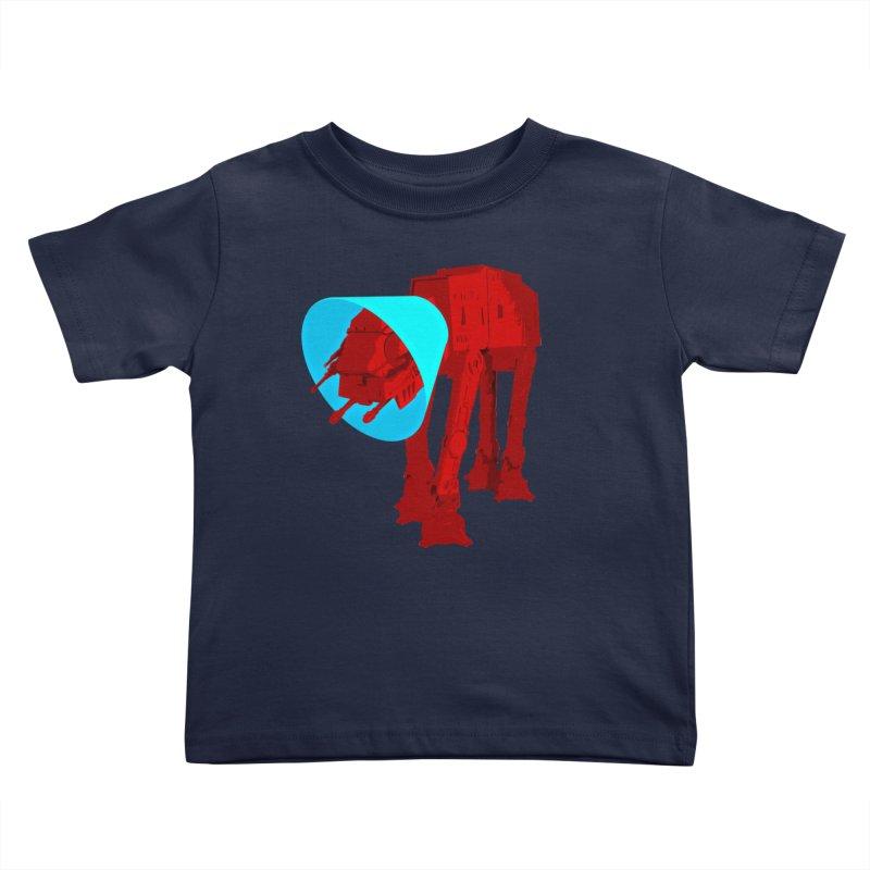 AT-AT BooBoo Kids Toddler T-Shirt by Dave Tees