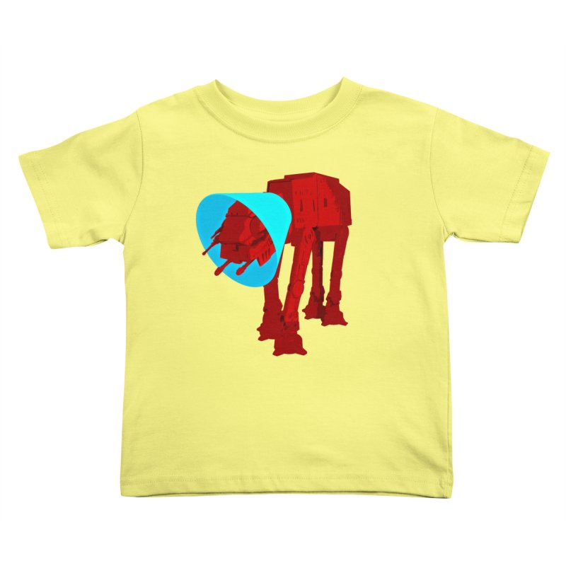 AT-AT BooBoo Kids Toddler T-Shirt by Dave Tees