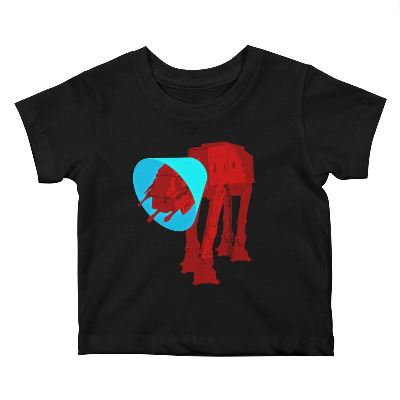 AT-AT BooBoo Kids Baby T-Shirt by Dave Tees