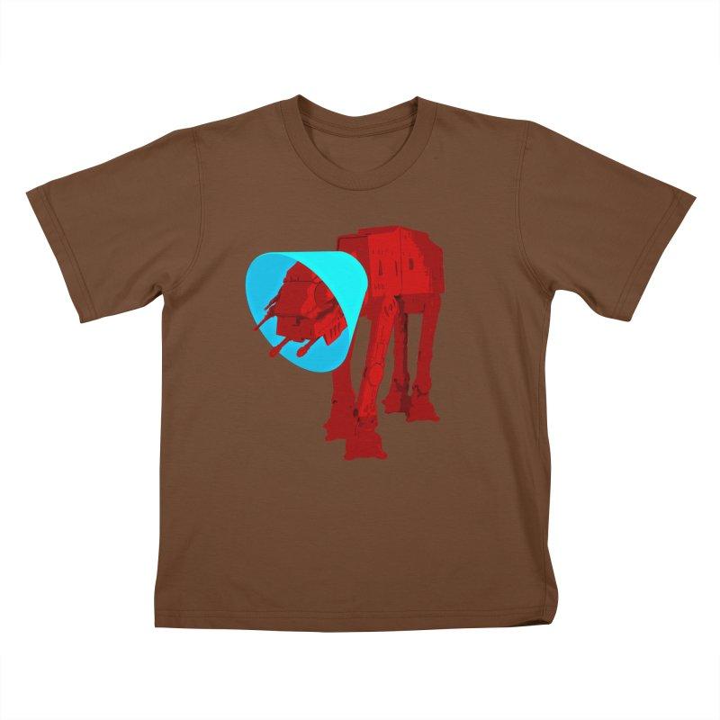 AT-AT BooBoo Kids T-Shirt by Dave Tees