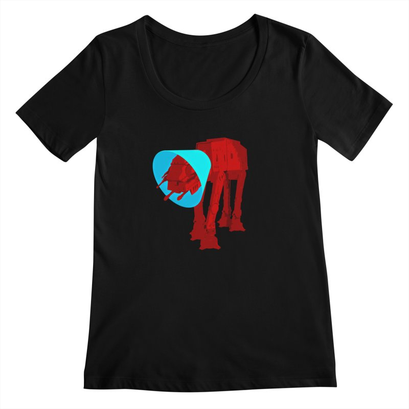 AT-AT BooBoo Women's Scoopneck by Dave Tees