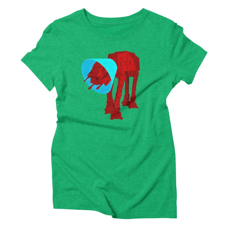 AT-AT BooBoo Women's Triblend T-shirt by Dave Tees
