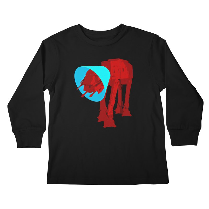 AT-AT BooBoo Kids Longsleeve T-Shirt by Dave Tees