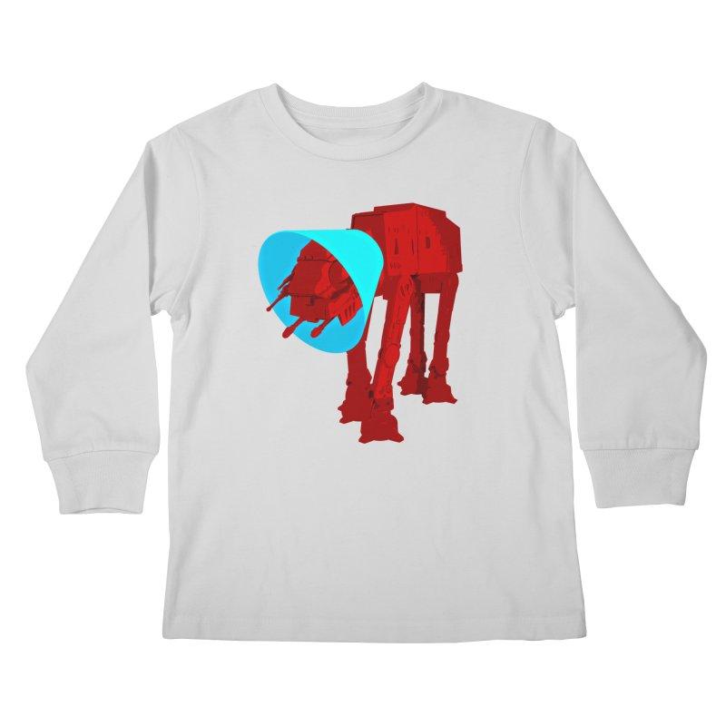 AT-AT BooBoo Kids Longsleeve T-Shirt by Dave Tees