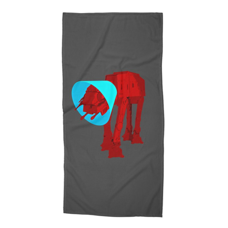 AT-AT BooBoo Accessories Beach Towel by Dave Tees