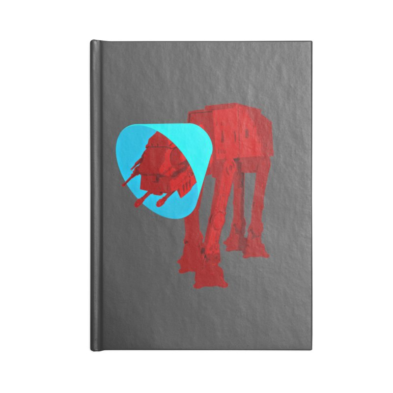 AT-AT BooBoo Accessories Lined Journal Notebook by Dave Tees