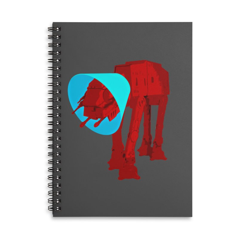 AT-AT BooBoo Accessories Lined Spiral Notebook by Dave Tees