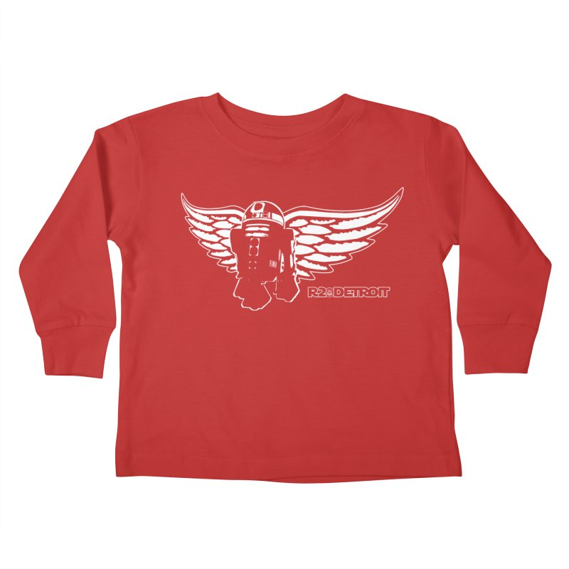 R2Detroit Kids Toddler Longsleeve T-Shirt by Dave Tees