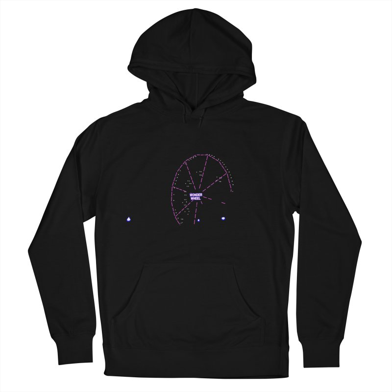 Warriors Wonder Wheel Women's French Terry Pullover Hoody by Dave Tees