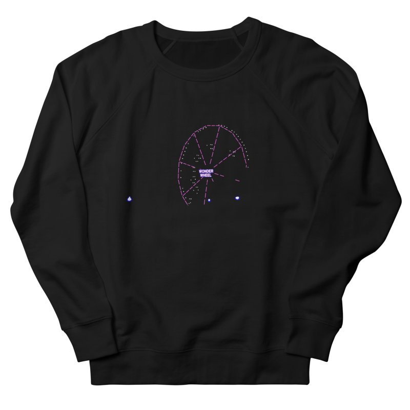 Warriors Wonder Wheel Women's French Terry Sweatshirt by Dave Tees