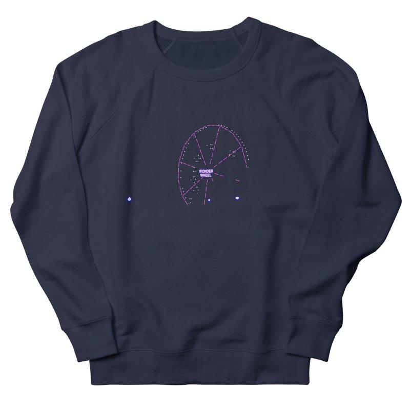Warriors Wonder Wheel Women's Sweatshirt by Dave Tees