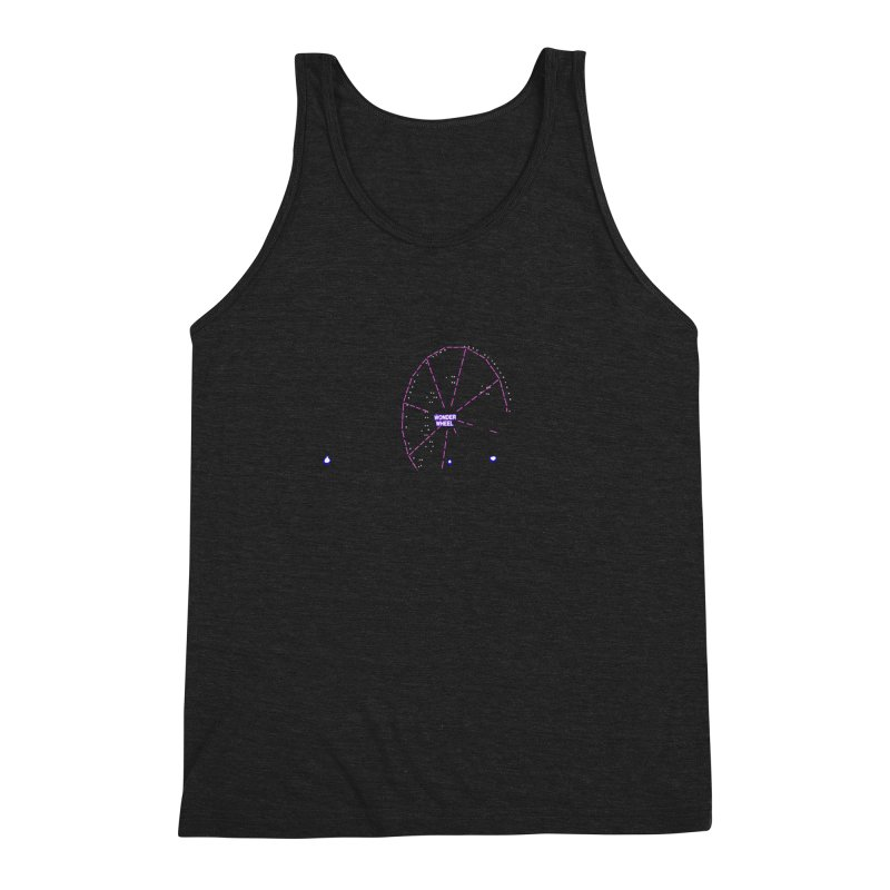 Warriors Wonder Wheel Men's Triblend Tank by Dave Tees