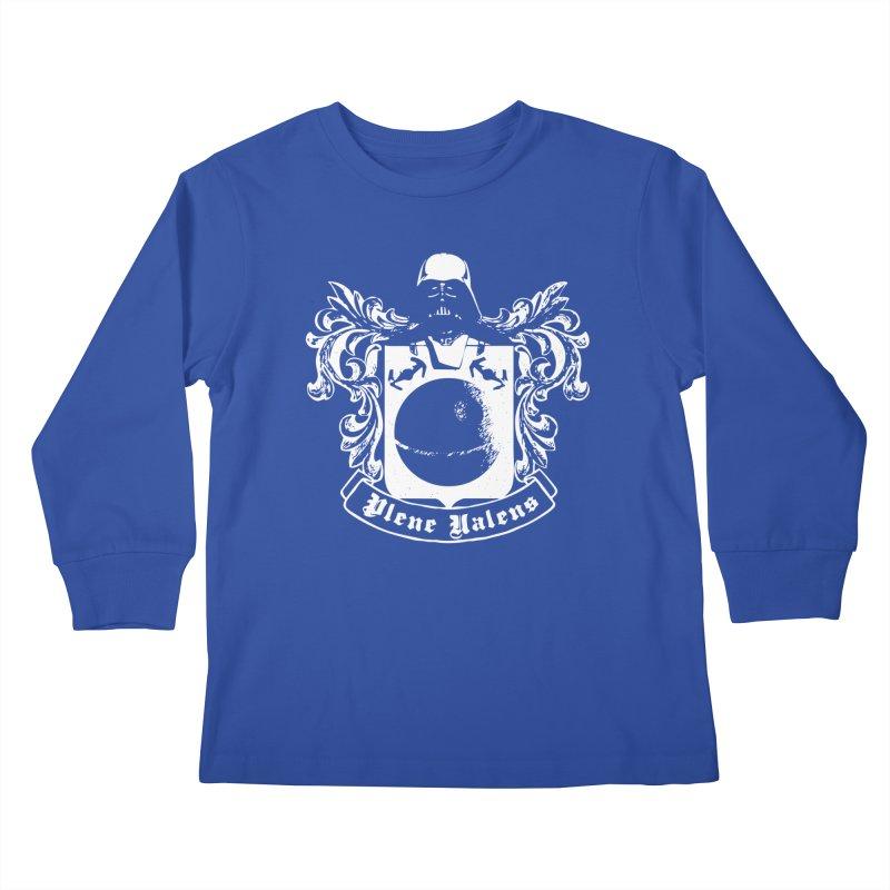 Plene Valens (Fully Operational) Kids Longsleeve T-Shirt by Dave Tees