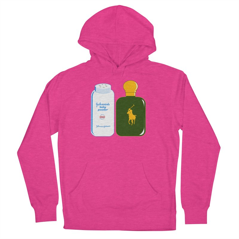 The Johnson's Baby Powder and The Polo Cologne Men's Pullover Hoody by Dave Tees