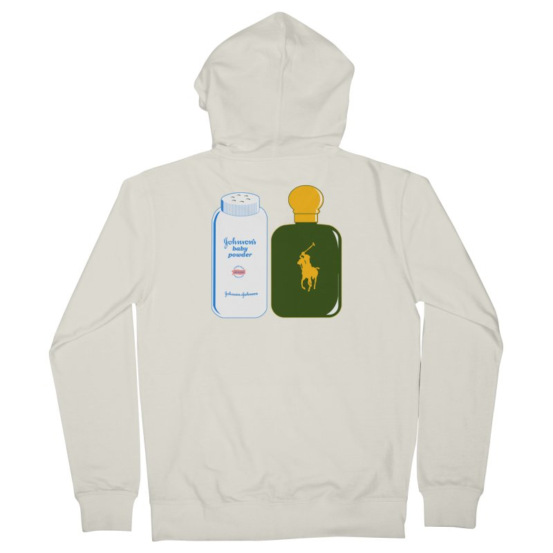 The Johnson's Baby Powder and The Polo Cologne Women's Zip-Up Hoody by Dave Tees