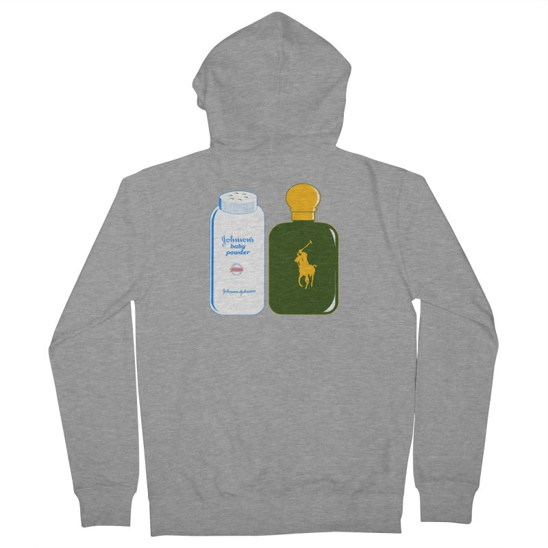 The Johnson's Baby Powder and The Polo Cologne Men's Zip-Up Hoody by Dave Tees