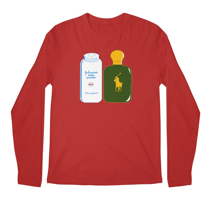 The Johnson's Baby Powder and The Polo Cologne Men's Longsleeve T-Shirt by Dave Tees