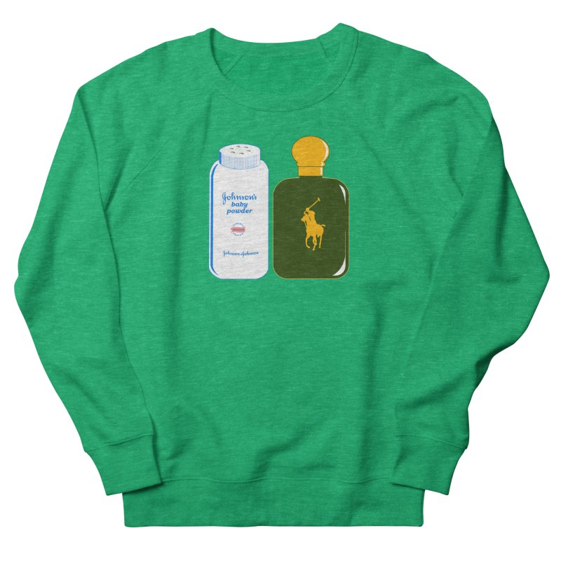 The Johnson's Baby Powder and The Polo Cologne Men's Sweatshirt by Dave Tees