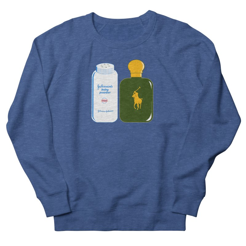 The Johnson's Baby Powder and The Polo Cologne Men's French Terry Sweatshirt by Dave Tees
