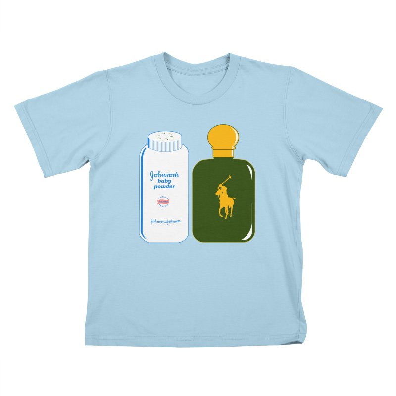 The Johnson's Baby Powder and The Polo Cologne Kids T-shirt by Dave Tees