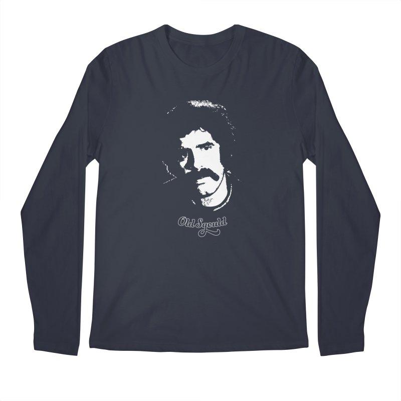 Old Sgould (Elliott Gould) Men's Regular Longsleeve T-Shirt by Dave Tees