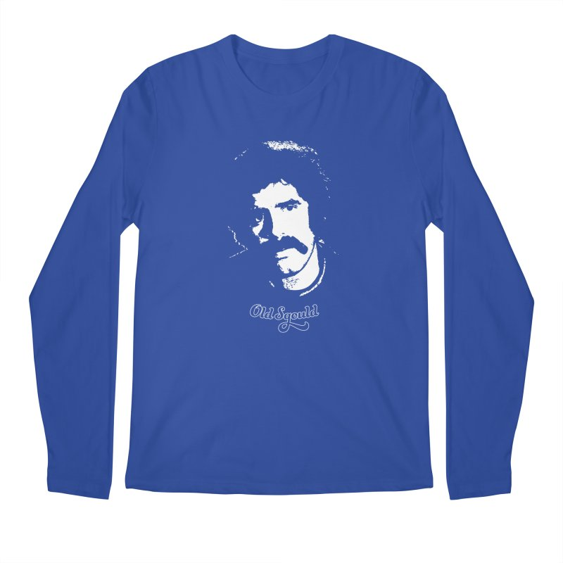 Old Sgould (Elliott Gould) Men's Longsleeve T-Shirt by Dave Tees