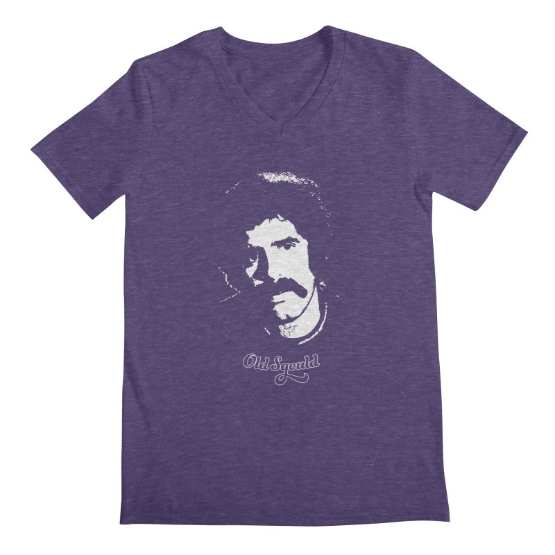 Old Sgould (Elliott Gould) Men's Regular V-Neck by Dave Tees