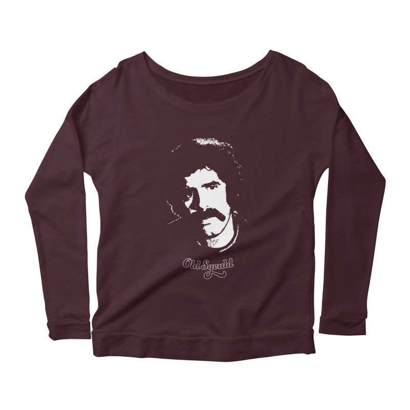 Old Sgould (Elliott Gould) Women's Longsleeve Scoopneck  by Dave Tees